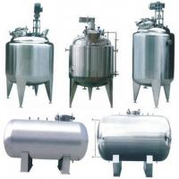 Buy cheap Iso / Ce Sanitary Mixing Stainless Steel Storage Tank For Liquid Storage product