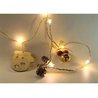 Buy cheap LED Fairy Lights LED Flashing Lights With 3AA Battery Case Home Decoration Christmas String Light from wholesalers