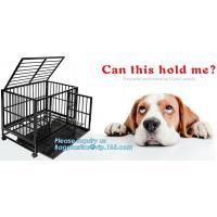 Buy cheap Hot Sale Dog Cage with Wheel 78X41.5X47 CM(Best Quality, Direct Factory, Low Price, Fast Delivery), Custom heavy duty Al product