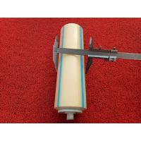 Buy cheap Conveyor Carrying Idler Roller with Plastic Tube Is Very Light and Easy Installed product