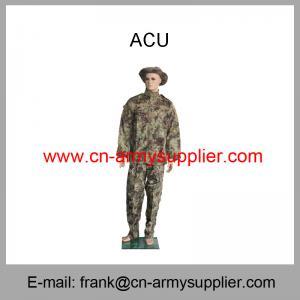 Buy cheap Uniforme militar barato por atacado do combate do exército da camuflagem da grão dos pitães de China product