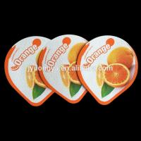 Buy cheap Embossed food packging Full Color Printing Foil Lids product