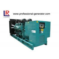 Quality 3 Phase 4 Wires Open Type Cummins Diesel Generator Set 250kVA Low Fuel for sale