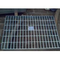 Buy cheap Galvanized Steel Grating Drain Cover With Angle Frame Urban Road / Square Suit product