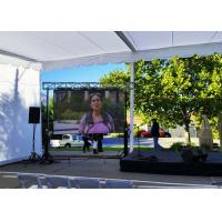 Buy cheap Waterproof LED Display Flexible Video Screen , P 7.8mm Outdoor LED Advertising Screens product