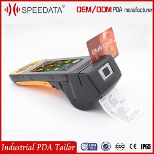 Smart Card Mobile Rfid Reader Biometric Android Fingerprint Scanner Printer