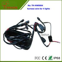 China Fireproof and Waterproof Wiring Harness with DT connectors for 4 LED Lights Simultaneously on sale