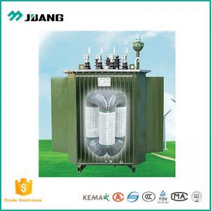 триангулярным энергосберегающее трансформатора сердечника 11kv погруженное маслом стереоскопическое
