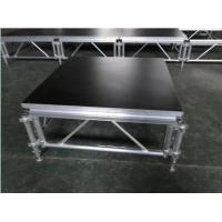 Buy cheap 6082-T6 Aluminum Movable Stage Platform / 1.22 X 1.22m Outdoor Portable Stage product