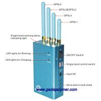 Buy cheap jammer, cellphone jammer,High Power Portable GPS (GPS L1/L2/L3/L4/L5) Jammer product