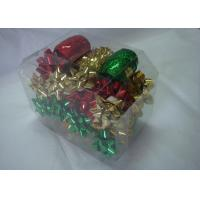 Buy cheap Metallic , PET and polyester shining Gift Wrap Ribbon set with christmas tinsel product