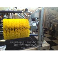 Buy cheap 100W Nylon Body Cow Scratching Brush , Yellow Hanging Type Cattle Brush product