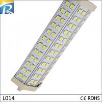 Buy cheap 6063 lámparas puras del aluminio 1300lm 15W R7S 72pcs SMD 5050 LED PL para el supermercado product
