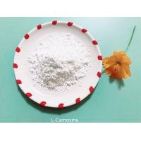 Buy cheap L-Carnosine Raw Nutraceutical Ingredients , Anti Aging Nutritional Supplements from wholesalers