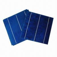 Buy cheap 2012 High Efficiency Polycrystalline Solar Cells with A Grade, Measures 156 x 156mm product