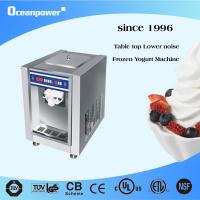 Countertop Yogurt Machine : Single flavor Counter Top soft ice cream &frozen yogurt machine HC118A ...
