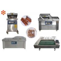 Buy cheap DZ-1100 Continous Vacuum Food Packaging Sealing Equipment For Rice / Meat from wholesalers