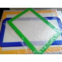 China Silicone Baking Mat Safe for Freezer / Oven / Microwave on sale