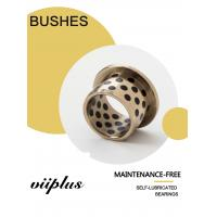 Buy cheap C93200 | SAE660 TIN BRONZE SLEEVE BUSHING OIL LESS GRAPHITE PLUGGED product