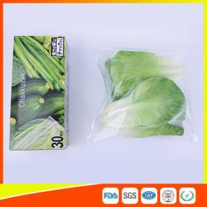 Buy cheap Sacos Ziplock do armazenamento de congelador do espaço livre Resealable do LDPE para biodegradável vegetal product