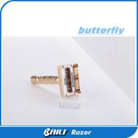 Buy cheap Custom Male Wet Shave Open Comb Safety Razor Chrome Plated Handle product