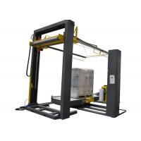 Buy cheap Chain Conveyor Frame Type Palletizer , 650 Mm Height Pallet Wrap Dispenser product