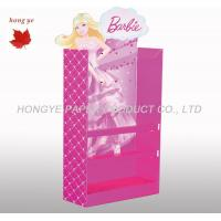 Buy cheap Pink Point Of Sale Cardboard Display Stands For Super Market product