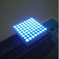 Buy cheap Ultra Blue Outdoor 8X8 Dot Matrix Display 0.8 Inch 1.9m with Information screen product
