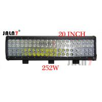 China LED Light Bar 252W 20 Inch 4 Row Car LED light Auto Light JALN7 wholesale