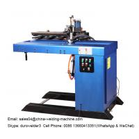 Buy cheap SSW-1500 Longitudinal Seam Welding Machine To Weld Tank Cylinder Straight Seam with blue color product