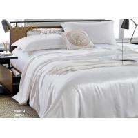 China Living Room Wholesale Pure White Hotel Quality Bed Linen 4 PCS Bedding Cover For Guest Room on sale