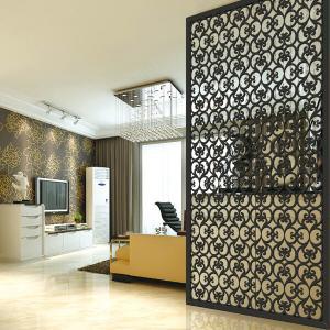 装飾的なステンレス鋼のレーザーによって切られる屋外の金属スクリーンの仕切り中国製