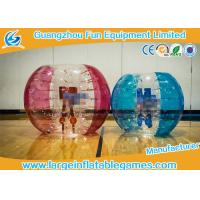 Bright Color Knocker Inflatable Rolling Ball Suit , Inflatable Sumo Ball For Playing Games