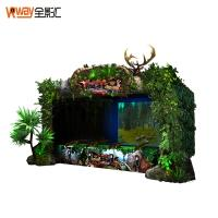 Buy cheap Multiple Player Motion Sensing Games 4D Crazy Hunting Game Projector Screen product