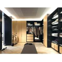China China wholesale affordable Italian modern luxury l shape walk-in closet on sale
