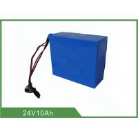 China Topband Rechargeable LiFePO4 Battery , Street Light Battery 24V 10Ah on sale