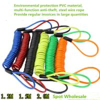 Buy cheap Multicolored Motorcycle Disc Brake Lock Anti Theft Spring Reminder Rope product