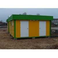Buy cheap Residential Mobile Modular Homes Prefabricated Steel Frame Windproof product