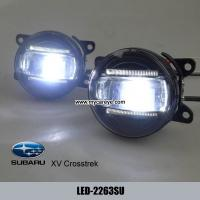 Buy cheap Subaru XV Crosstrek car lighter front fog led light DRL daytime running lights product