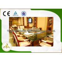 8  Seat Japanese Teppanyaki Grill Table Rice / Noodle Countertop Hibachi Grill