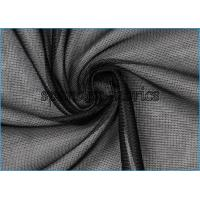 Sheer Look Knit Lining Fabric , Tricot Semi Gloss Lining Fabric 80gsm