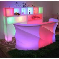 Buy cheap Rechargeable LED Bar Counter Multi Color Changing Beach Event Club Outdoor Bar Counter from wholesalers