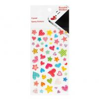 Buy cheap Reusable Cartoon Stars Heart Mobile Phone Stickers Book Decor product