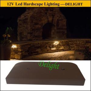 Buy cheap Diodo emissor de luz sob jogos da luz da paisagem da parede de retenção do tampão, luzes de pedra da parede de retenção do diodo emissor de luz do tijolo product