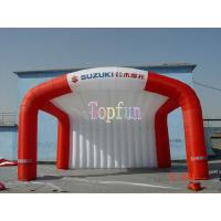 Buy cheap Outdoor Fabric Inflatable Tradeshow Event Tent / Outdoor Event Advertisment Tent With Printing product