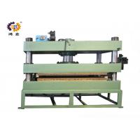 Buy cheap 11kw 300T Green Hydraulic Heat Press Molding Machine For Door Plate product
