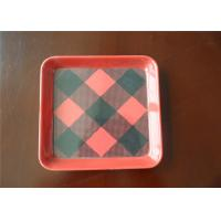 China 100% Recyclable Melamine Plastic Plates High Temperature Resistant For Breakfast wholesale