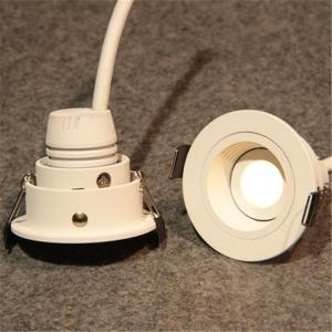 China New Design Lighting distinctive retrofit 3w mini LED cabinet light with 55*H43 mm dimension and 350lm lumens wholesale
