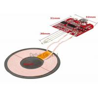 Buy cheap Multifunctional Qi Wireless Charging Module PCBA With Coil For Mobile Phone Charger product