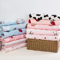 China Factory Price Bulk Warm Double-Sided Polyester Flannel Fleece Fabric on sale